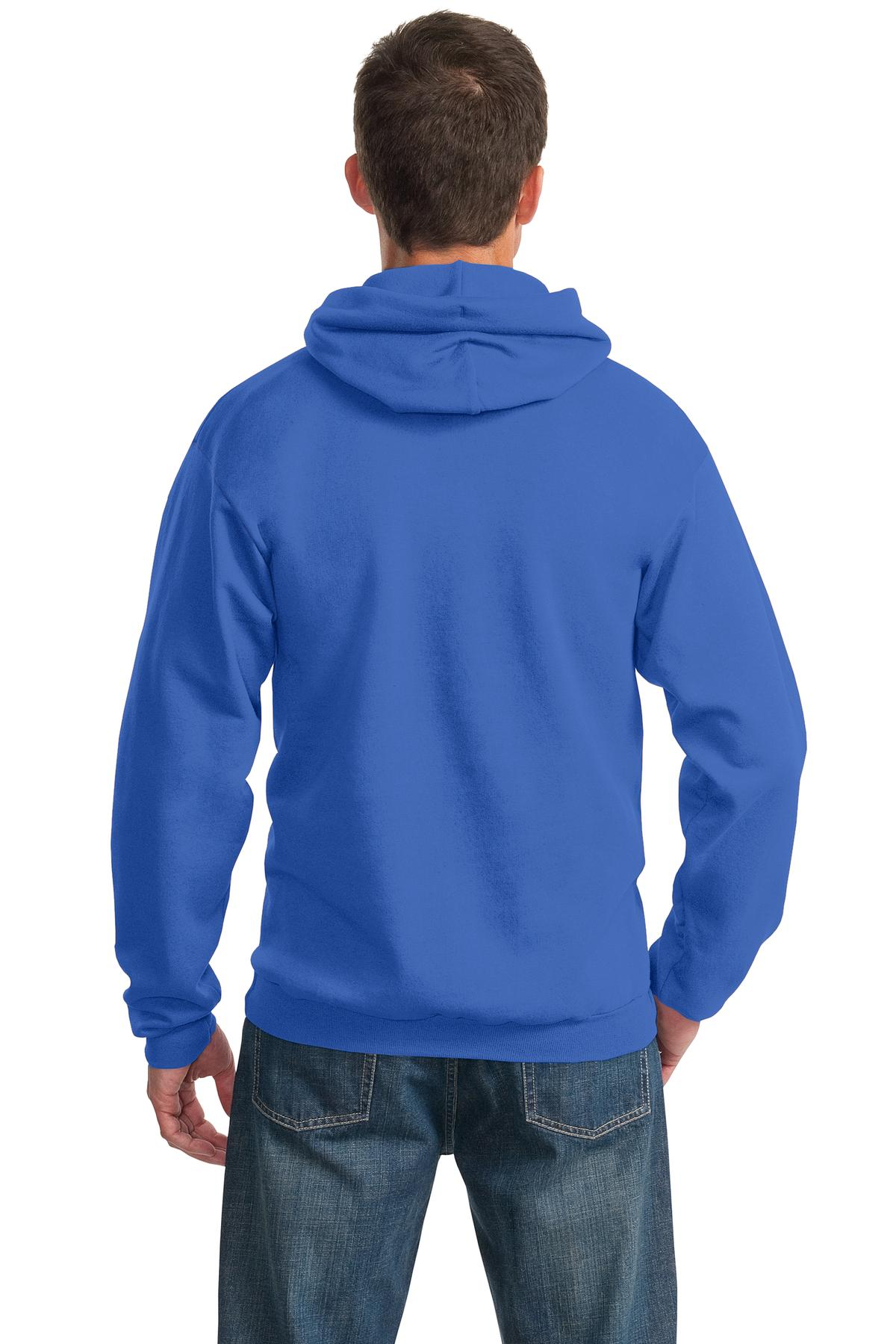 Port /& Company Ultimate Pullover Hooded Sweatshirt PC90H Size S-4XL
