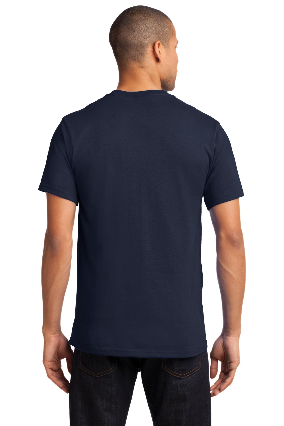 Port-amp-Company-Tall-Essential-TShirt-with-Pocket-PC61PT-Size-LT-4XLT thumbnail 16