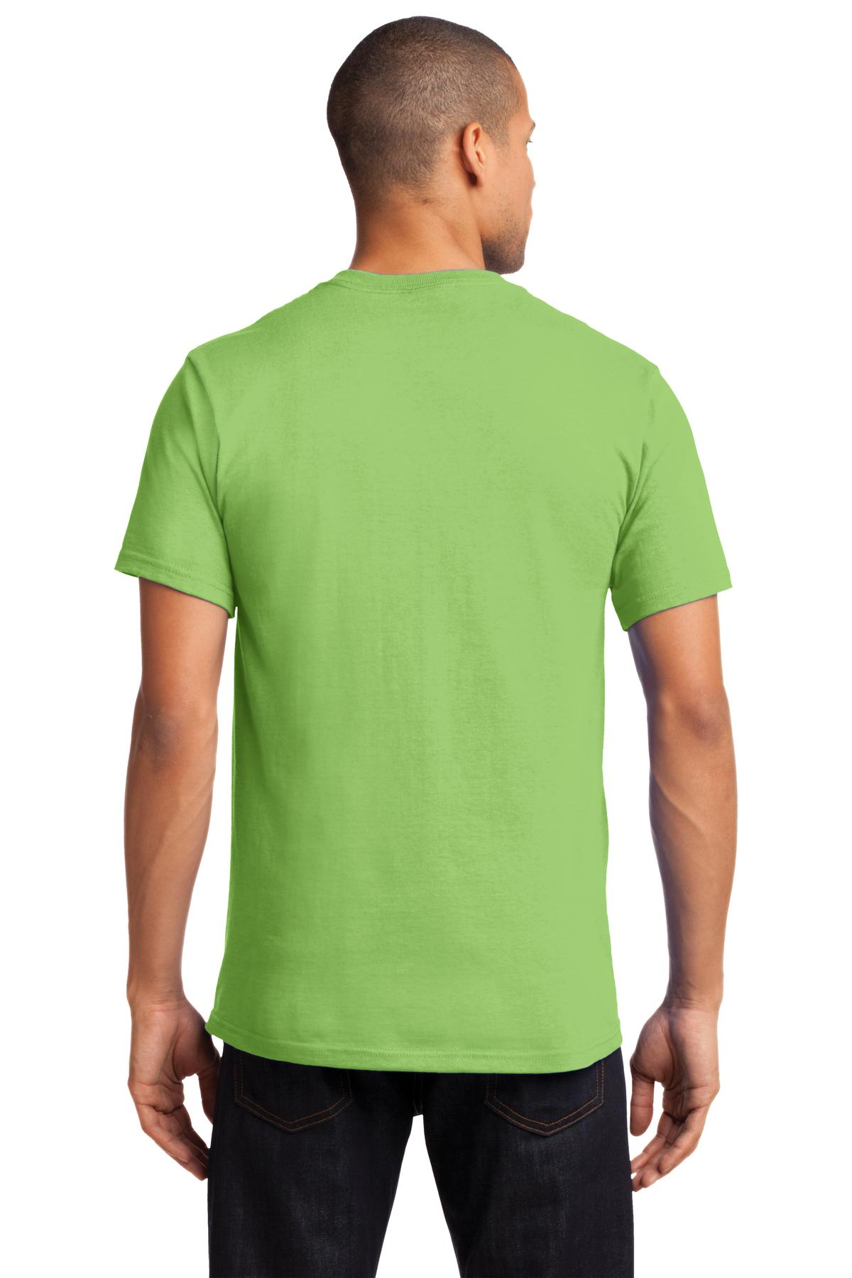 Port-amp-Company-Tall-Essential-TShirt-with-Pocket-PC61PT-Size-LT-4XLT thumbnail 22