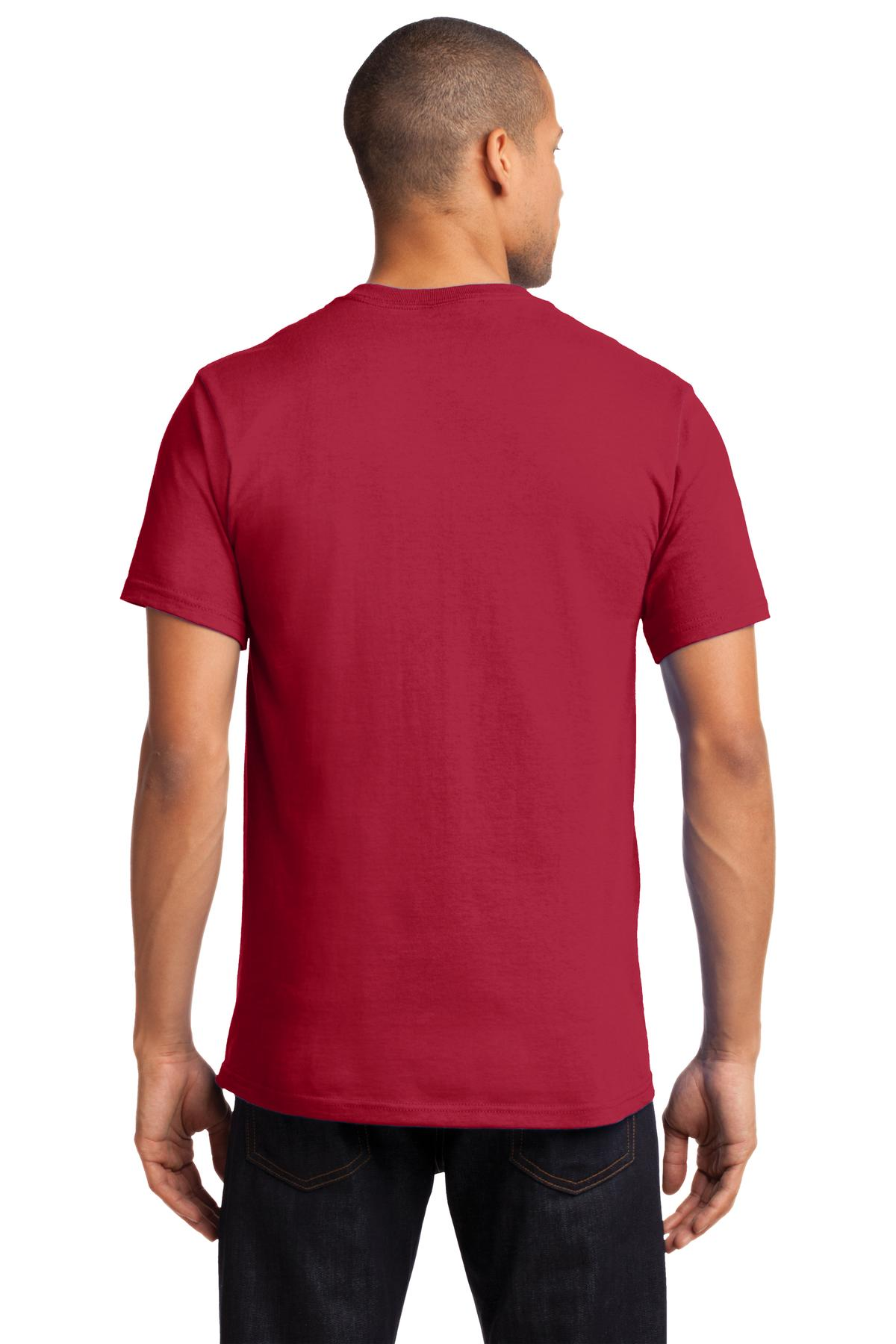 Port-amp-Company-Tall-Essential-TShirt-with-Pocket-PC61PT-Size-LT-4XLT thumbnail 30