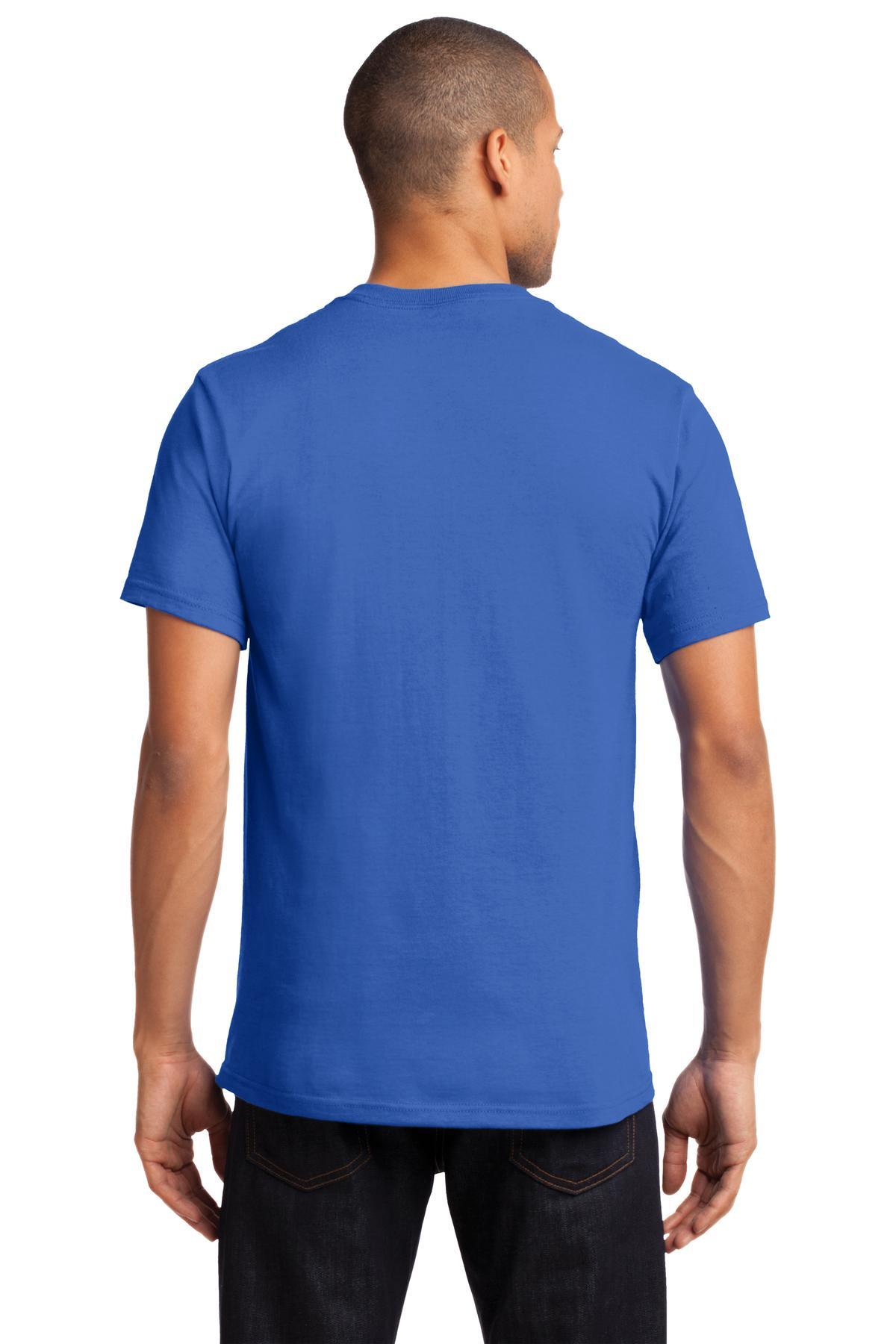Port-amp-Company-Tall-Essential-TShirt-with-Pocket-PC61PT-Size-LT-4XLT thumbnail 32