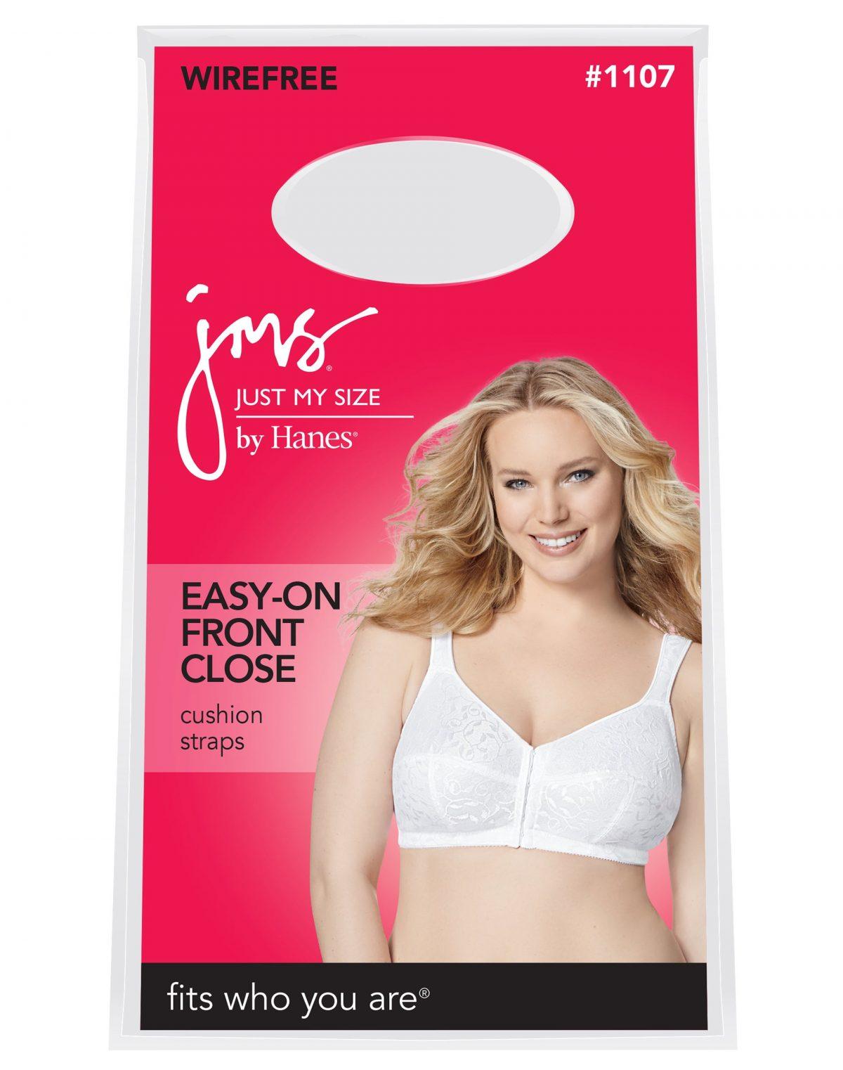 front hook bra packaging
